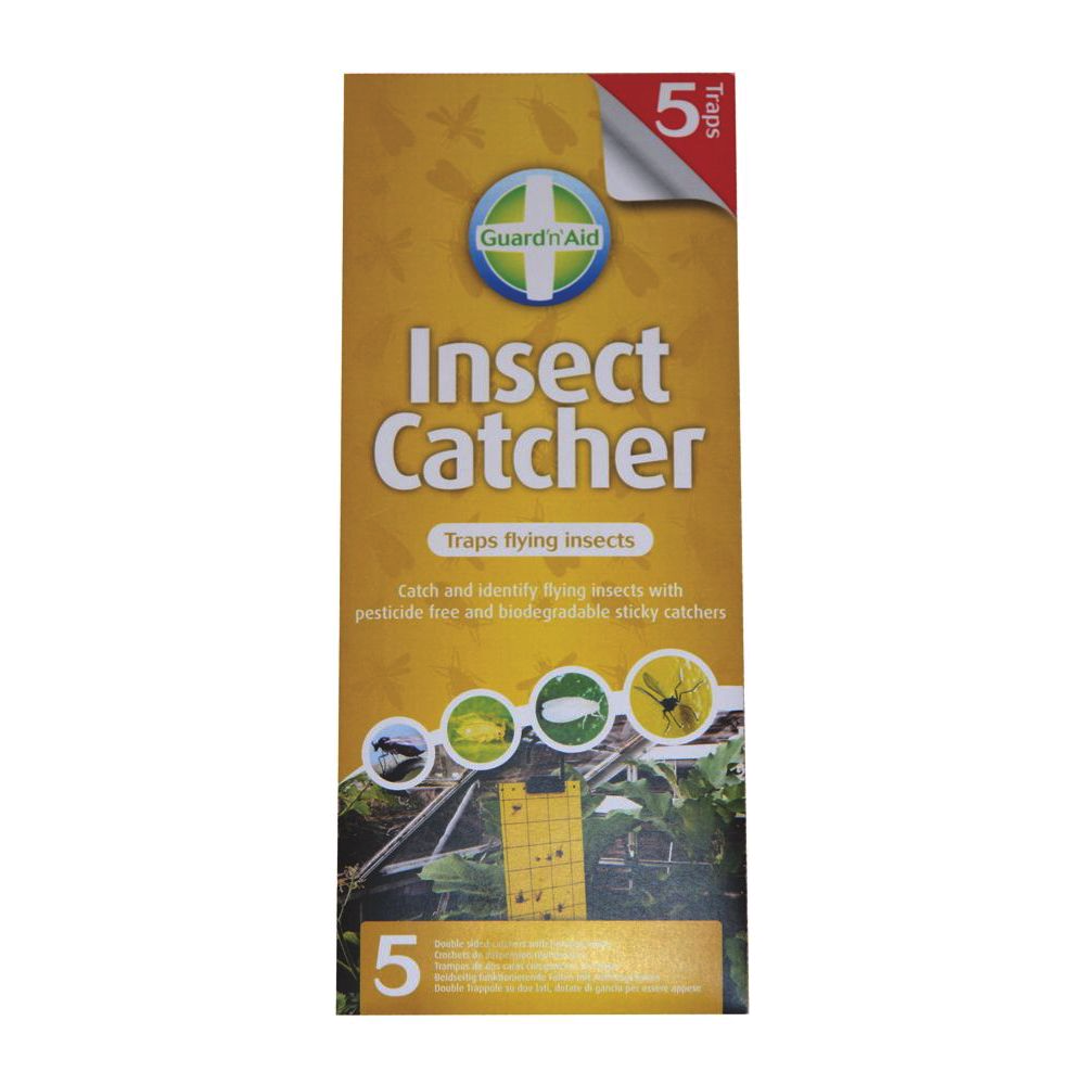 GUARD N AID THRIPS INSECT CATCHER / STICKY TRAP (White Fly)  sc 1 st  Lets Grow Hydro & GUARD N AID THRIPS INSECT CATCHER STICKY TRAP White Fly