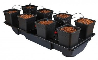 Wilma Wide Xl 8 Pot System 8 X 25l Pots